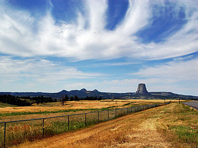 Devils Tower Landscape 2